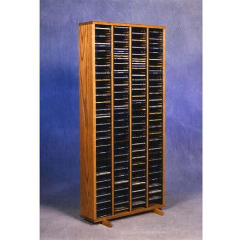 Solid Wood Cd Rack by Wood Shed Solid Oak Cd Rack Tws 409 4