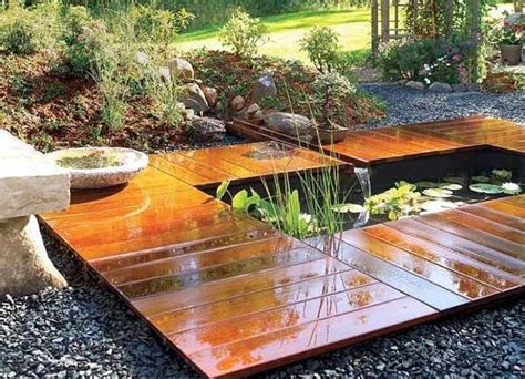 build backyard pond 20 yard landscaping ideas to reuse and recycle old