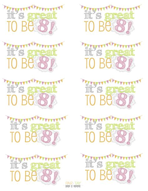 8 Terrific Ways To Be Jolly by It S Great To Be 8 Birthday Baptism Ideas