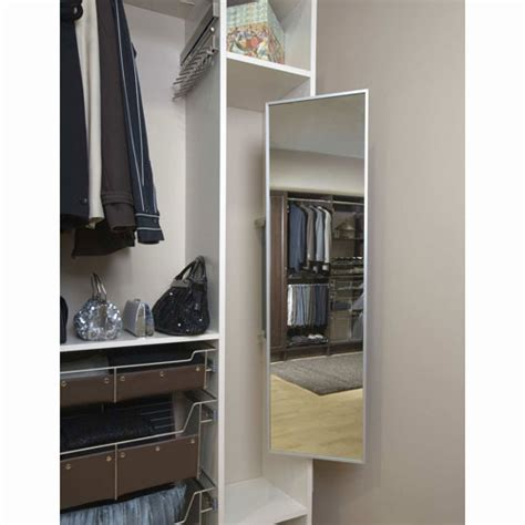 Mirror In Wardrobe by Fold Away Closet Mirror In Custom Closet Accessories