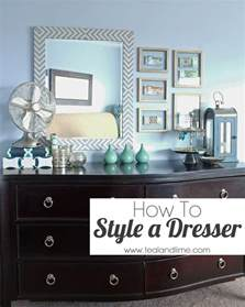 how to style a dresser school of decorating by jackie
