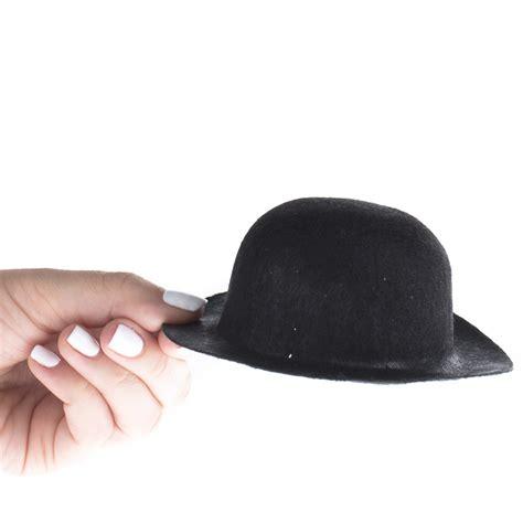 black doll supplies black felt derby doll hat doll hats doll