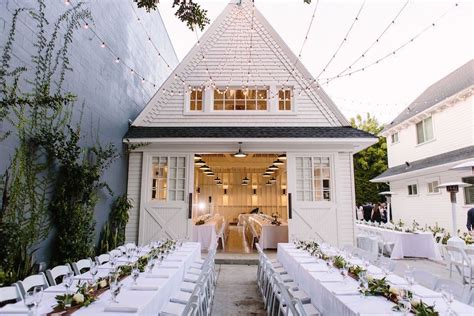 white wedding at lombardi house premiere rents