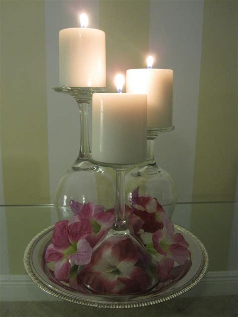 wine glasses for centerpieces wine glass centerpieces weddingbee