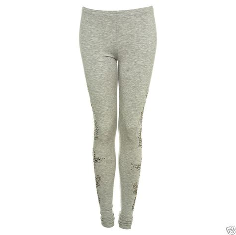 Rodeo Legging topshop grey rodeo studded toppingyou
