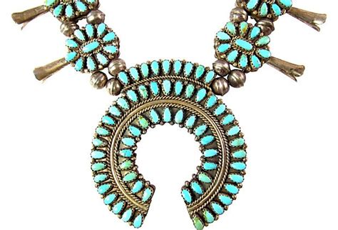 Francone Also Search For Reversible Squash Blossom Necklace