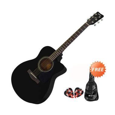 Harga Gitar Yamaha Hitam jual yamaha fs 100 c gitar akustik hitam free softcase