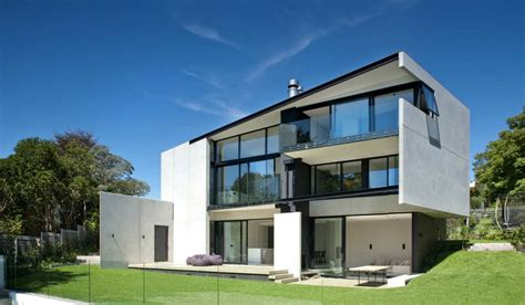Design Your Own Home New Zealand Contemporary Concrete 9 Elmstone House In New Zealand