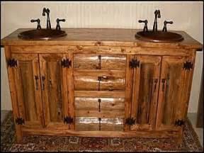 Bathroom Vanities Rustic Style Rustic Log Cabin Bathroom Vanities Log Cabin Rustic
