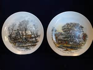 Currier And Ives Plates » Home Design 2017