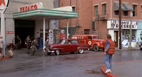 Texco Garage by Texaco Garage Courthouse Square Hill Valley 1955 A
