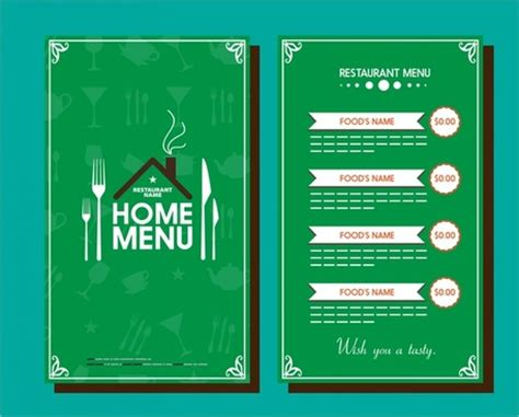 vector pizza menu templates free vector download 14 192