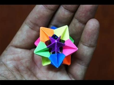 How To Make Modular Origami - origami 8 point my crafts and diy projects