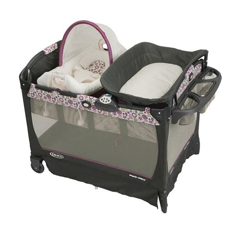 graco pack n play playard with cuddle cove rocking seat graco pack 039 n play play yard with cuddle cove removable