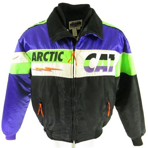vintage 80s arctic cat ski jacket mens xl retro