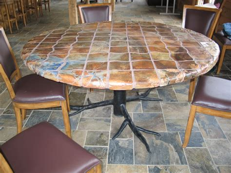 Silver Creek Pottery Patio Garden Table