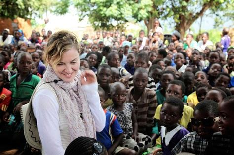 Madonna Makes A Donation by And Charity In Africa The New Yorker