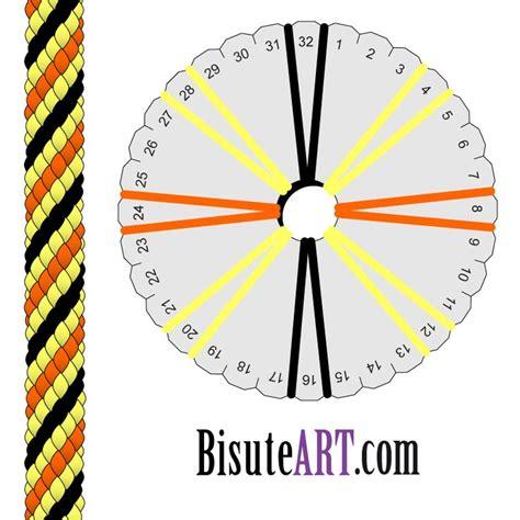 kumihimo pattern maker el blog de bisuteart tutoriales y trucos de bisuter 237 a