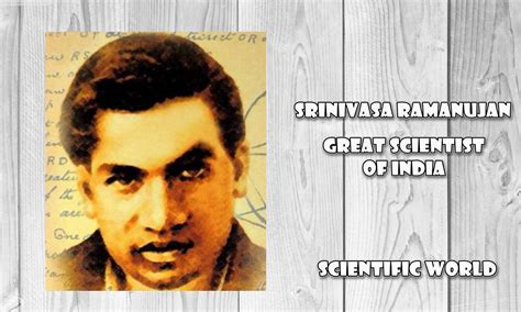 ramanujan biography in hindi श र न व स र म न जन क गण त य व र सत scientific world
