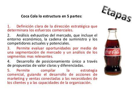 como se elabora la coca cola dentro de la fabrica taringa plan de marketing de coca cola