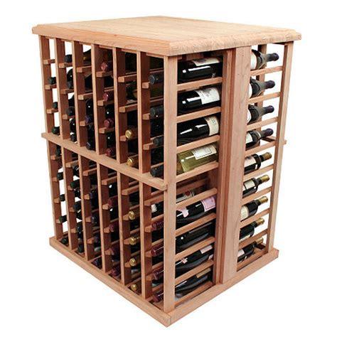 Wine Rack Kit by Designer Wine Rack Kit 108 Bottle Tasting Table Wine Enthusiast
