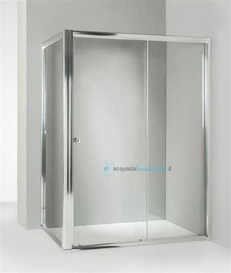 piatto doccia 75x100 box doccia angolare anta fissa porta scorrevole 75x100 cm