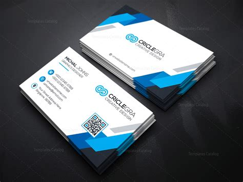 business cards templates one psd organisation business card template 000182 template