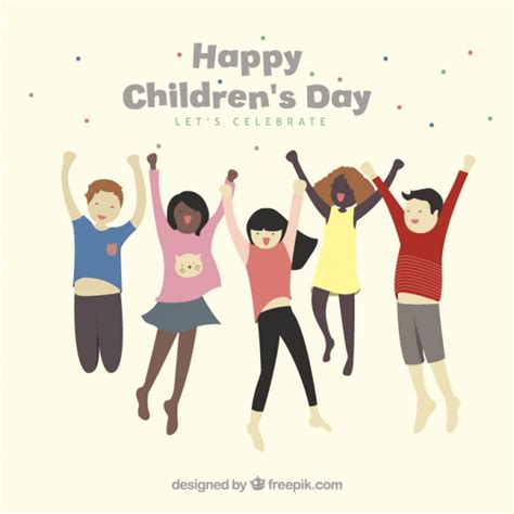 s day card free happy children s day card vector free