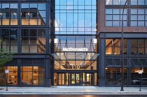mcdonald corporate office mcdonald s unveils new corporate headquarters in chicago