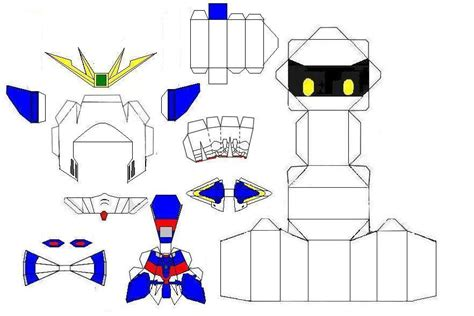 Gundam Papercraft Template - paper craft new 624 papercraft templates gundam