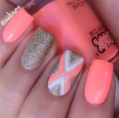 easy nail art bright colors 25 best ideas about bright summer nails on pinterest