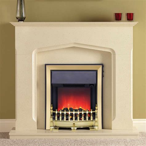 electric modern fireplace marble effect finish be modern bramwell eco electric
