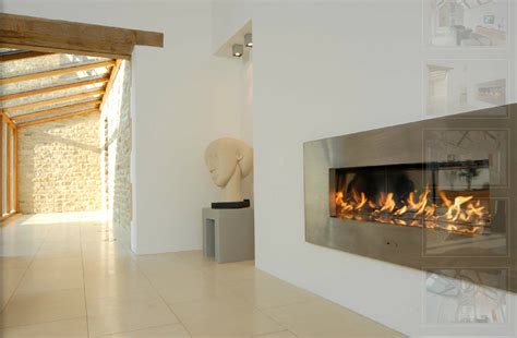 Cvo Fireplace by Ribbon Sided Gas Cvo Co Uk