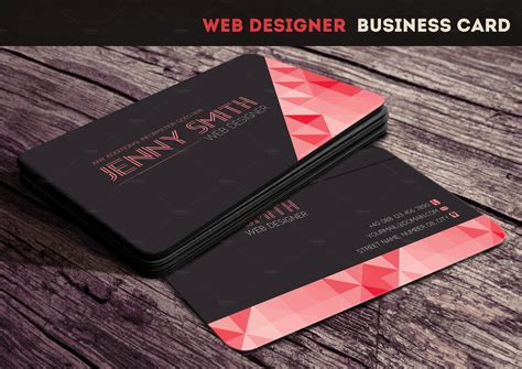 meats business cards template web designer business card business card templates on