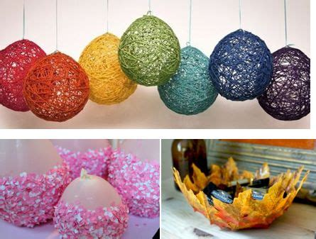 home decor ideas from waste a easy best out of waste balloon craft best out of waste
