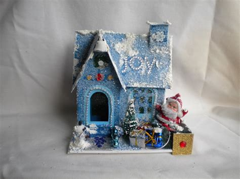 g wurm christmas houses 17 best images about miniature putz houses on vintage inspired cardboard houses