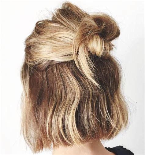 bob hairstyles put up easy half up bob hairstyle top haircuts