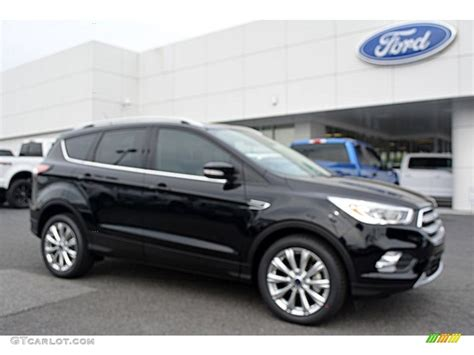 2017 Shadow Black Ford Escape Titanium 112842238