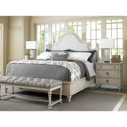 bay bedroom furniture lexington oyster bay upholstery platform customizable
