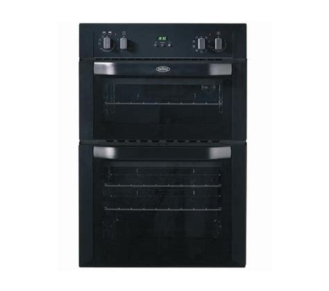 Buy BELLING BI90MF Electric Double Oven   Black   Free