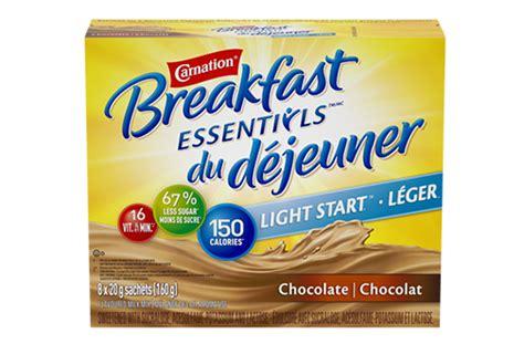 carnation instant breakfast light start carnation breakfast essentials light start coupon deals