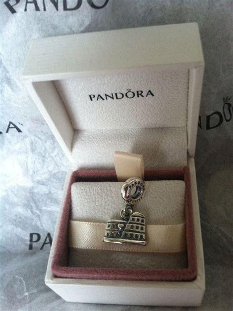 Pandora Colosseum Charm P 528 authentic pandora bead charm for bracelet colosseum rome