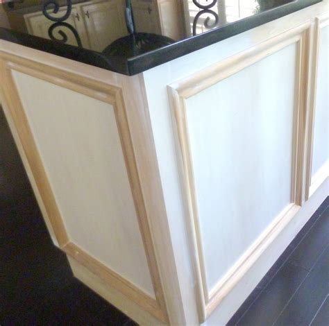kitchen cabinet door trim molding pictures of molding added to kitchen cabinet doors