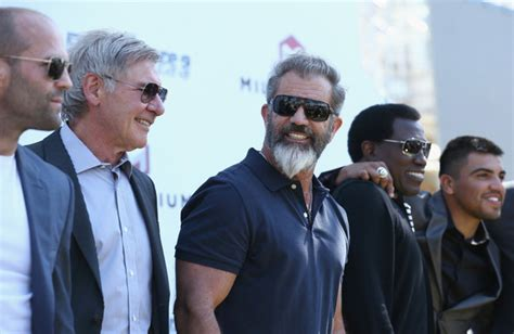 film jason statham wesley snipes mel gibson photos photos quot the expendables 3 quot photocall