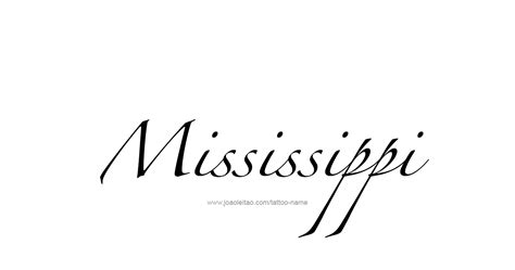 state of mississippi tattoo designs mississippi usa state name designs page 3 of 5