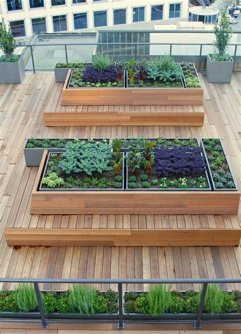 Just Two Fabulous Roof Gardens by 25 Trending Rooftop Gardens Ideas On Small