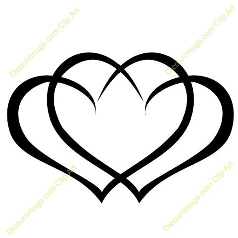 three hearts tattoo designs clipart 12059 interlocking hearts interlocking hearts