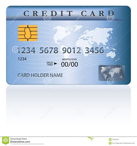 Debit Card Template by Credit Or Debit Card Design Stock Image Image 31207221
