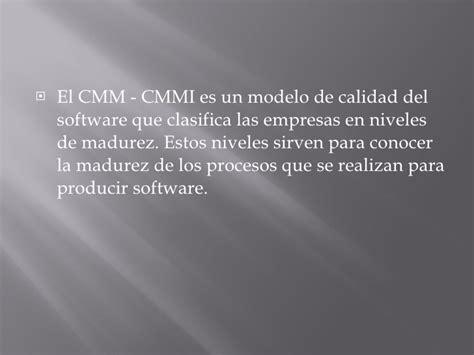 modelo de calidad modelo de calidad de desarrollo de software cmmi