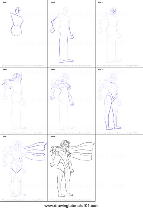printable heroes tutorial how to draw ms marvel from the avengers earth s